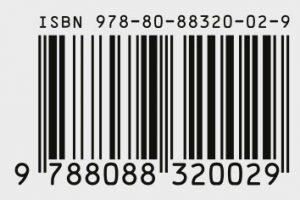 ISBN kód jako EAN