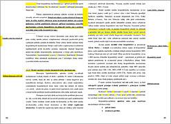 Ukázka zlomu textu knihy