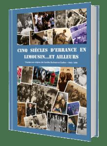 kniha Cinq Siecles D´errance En Limousin....