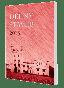 kniha Dějiny staveb 2013