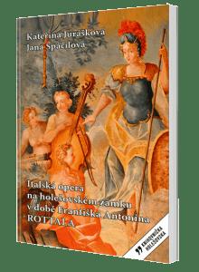 kniha Italská opera na holešovském zámku