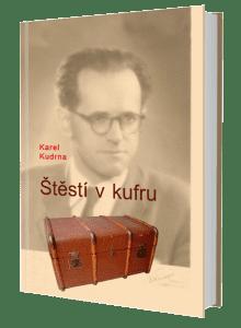 kniha Štěstí v kufru