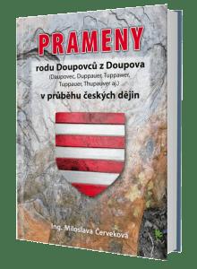 kniha Prameny rodu Doupovců...